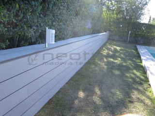 Tarima tecnológica exterior NeoTeck : Jardines delanteros de estilo  de Neoture madera tecnológica