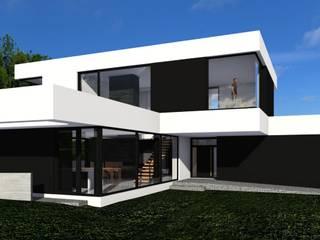 Modern Houses by ŁUKASZ ŁADZIŃSKI ARCHITEKT Modern