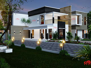 Top Ten Architects in Kochi Asian style houses by CreoHomes Pvt Ltd Asian