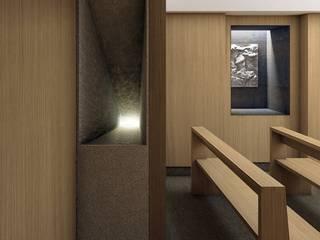 Centro di accoglienza Sala multimediale moderna di ALESSIO LO BELLO ARCHITETTO a Palermo Moderno