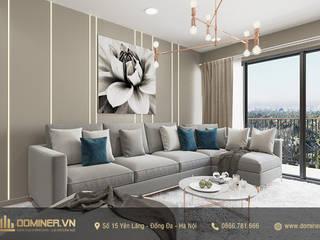 Thiết kế nội thất chung cư Gardenia căn 12A37A2 – chị Minh bởi Thiết kế - Nội thất - Dominer