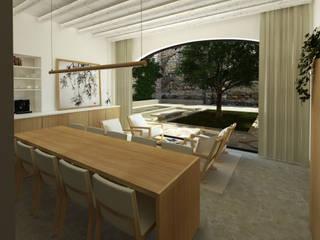 Bed and Breakfast Hotel moderni di ALESSIO LO BELLO ARCHITETTO a Palermo Moderno