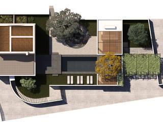 Villa R J di ALESSIO LO BELLO ARCHITETTO a Palermo Moderno