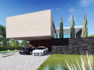 Casa La Providencia de KLS Arquitectos Minimalista