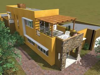 Casas de estilo  por Arquitecto Emiliano Quintero, Moderno