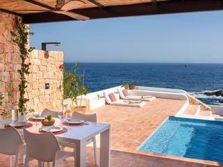 Balcones y terrazas de estilo mediterráneo de Estatiba construcción, decoración y reformas en Ibiza y Valencia Mediterráneo