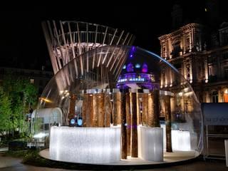 Demi-bulle pour La Chênaie et le Groupe Charlois Balcon, Veranda & Terrasse classiques par JC Keller Classique