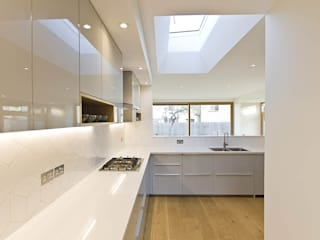 Honor Oak Park Home - London SE23 Cocinas modernas de Designcubed Moderno