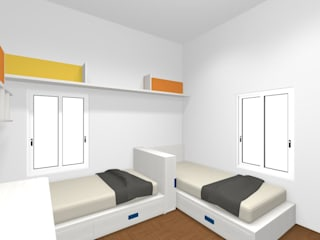 Spaziojunior Teen bedroom Yellow