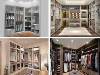 Muebles de melamina y closets de Shirley Palomino Moderno