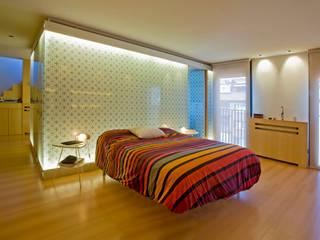 Remodelación Duplex Dormitorios de estilo minimalista de INFINISKI Minimalista