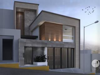 Casa Inglaterra Casas modernas de Doslunas Moderno