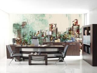 Dinding & Lantai Modern Oleh Kromart Wallcoverings - Papel Tapiz Personalizado Modern