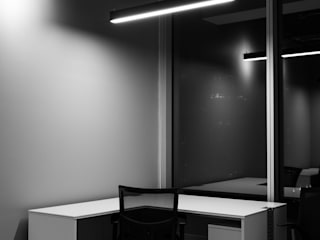 Minimalist study/office by Estudio Amani Minimalist