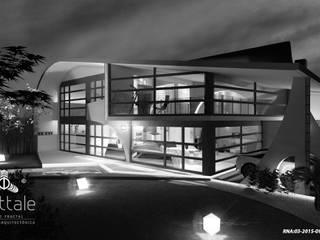 PROYECTOS CON METODOLOGÍA PATENTADA FRATTALE 2019: Casas de estilo  por Frattale
