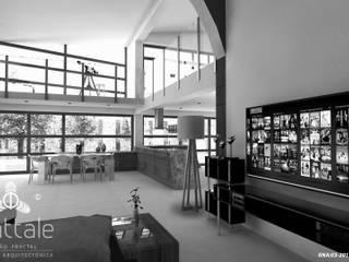 PROYECTOS CON METODOLOGÍA PATENTADA FRATTALE 2019: Casas unifamiliares de estilo  por Frattale