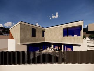 Casa 15 (Braga) Casas modernas por am-arqstudio Moderno
