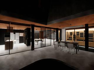 Casa 15 (Braga) Salas de estar modernas por am-arqstudio Moderno