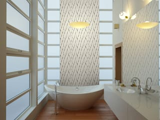 Papel tapiz personalizado para tu hogar Baños clásicos de Kromart Wallcoverings - Papel Tapiz Personalizado Clásico