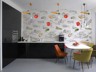 Papel tapiz personalizado para tu hogar de Kromart Wallcoverings - Papel Tapiz Personalizado Moderno