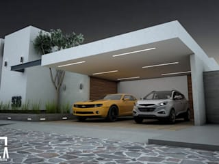 Casas unifamilares de estilo  de Osuna Arquitecto, Moderno