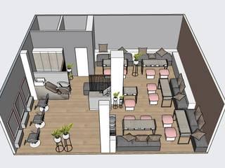 Spa de Uñas: Espacios comerciales de estilo  por EP+1 Arquitectos,