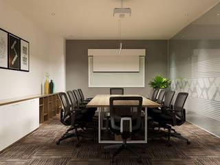 thiết kế nội thất văn phòng hiện đại HCM travel 2 Pay:  Phòng học/Văn phòng by công ty thiết kế văn phòng hiện đại CEEB