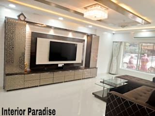 Vasai Project Modern living room by Interior Paradise Modern