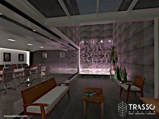 Minimalistischer Balkon, Veranda & Terrasse von TRASSO ATELIER Minimalistisch