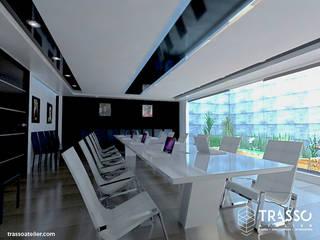 Minimalistische Wohnzimmer von TRASSO ATELIER Minimalistisch