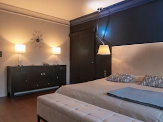 Eclectic style bedroom by Studio Projektowe Projektive Eclectic