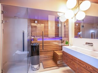 Salle de bains de style  par Studio Projektowe Projektive, Éclectique