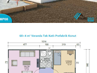 MP08 Multipan Prefabrik Endüstri Kırsal/Country