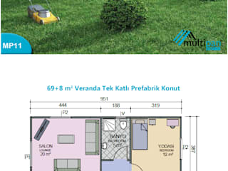 MP11 Multipan Prefabrik Endüstri Kırsal/Country