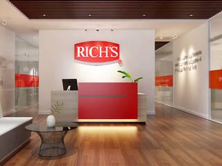 thiết kế văn phòng hiện đại RICH office sang trọng & độc đáo tại HCM:  Cửa ra vào by công ty thiết kế văn phòng hiện đại CEEB