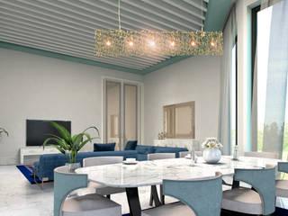 Minimalismo Design – umman villa projesi:  tarz Oturma Odası