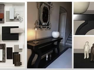 Maison - Aix en Provence ARCHITECTURAL DECO Couloir, entrée, escaliersCommodes & étagères