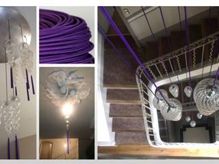 Maison - Aix en Provence ARCHITECTURAL DECO Couloir, entrée, escaliersEscaliers