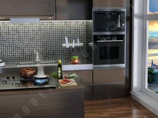 Modern kitchen by Modellazione-3d.it Modern