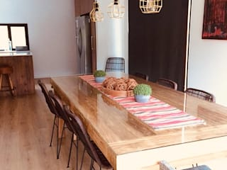 Country style dining room by INFINISKI Country