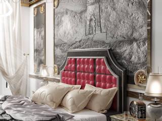Modern style bedroom by Modellazione-3d.it Modern