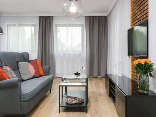 Fabryka Czekolady V: styl , w kategorii Salon zaprojektowany przez Justyna Lewicka Design