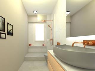 Home Staging Virtual Baños de estilo minimalista de GAP interiorismo Minimalista