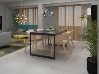 Home Staging Virtual Comedores de estilo industrial de GAP interiorismo Industrial