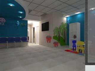 Diseño Consultorio Clínicas y consultorios médicos de estilo moderno de D8 Diseño de Interiores Moderno