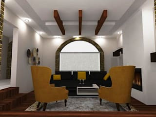 Decoracion Sala-Comedor Salones modernos de D8 Diseño de Interiores Moderno