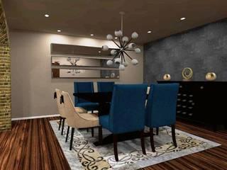 Decoracion Sala-Comedor Comedores modernos de D8 Diseño de Interiores Moderno