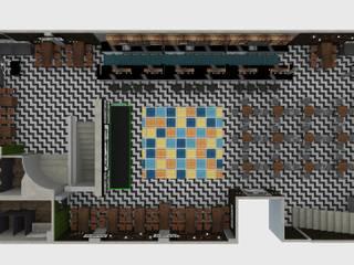 Remodelacion Bar Bares y clubs de estilo industrial de D8 Diseño de Interiores Industrial