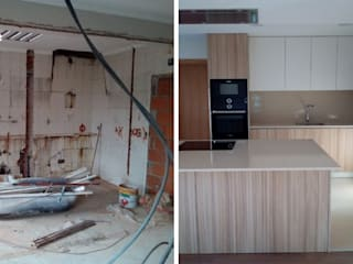 von Obr&Lar - Remodelação de Interiores Modern