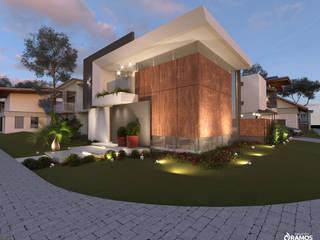 Single family home by Alessandro Ramos Arquitetura, Modern